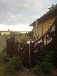 Ferienwohnung Typ 2 mit 2 Schlafzimmer bis 4 Personen (Aufbettung auf Anfrage möglich) - Bild 21: Darssurlaub - Wassergrundstück mit Hund - eingezäunter Terrasse, Angeln
